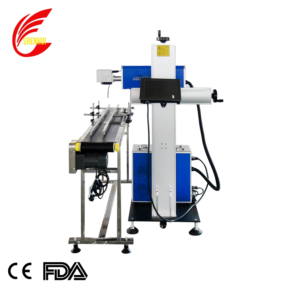 2020 Design 30W Fly Laser Marking Machine