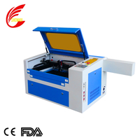 350 PMI guide rail co2 laser engraving and cutting machine